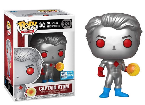 Captain Atom #333 - 2020 Wondercon Exclusive Official Sticker