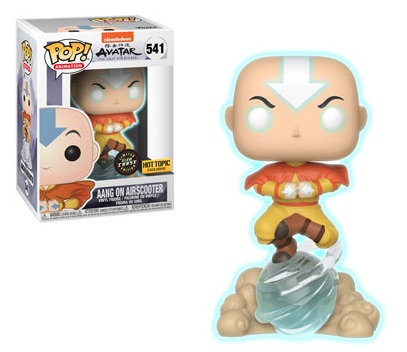 Aang on Airscooter #541 - Avatar Hot Topic Exclusive Chase