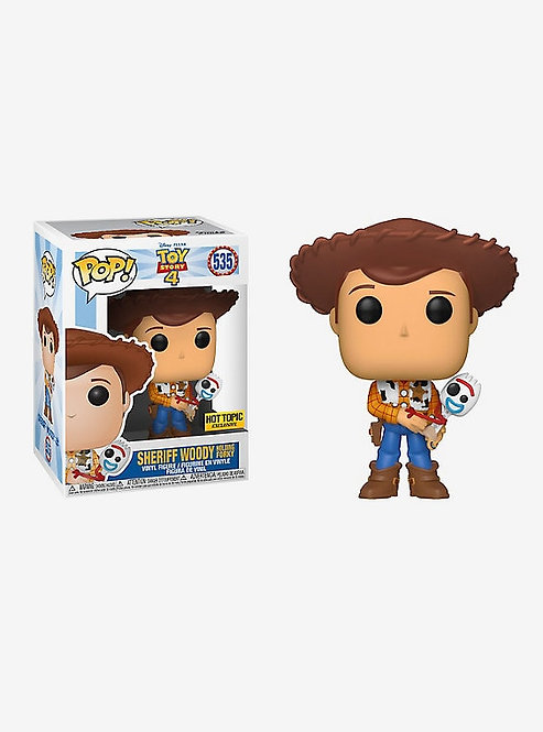 Sheriff Woody #535 - Toy Story 4 Hot Topic Exclusive