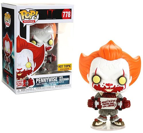 Pennywise with Skateboard #778 IT - Hot Topic Exclusive