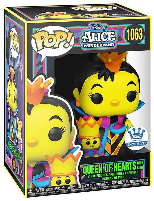Queen of Hearts #1063 - Alice in Wonderland Black Light Series