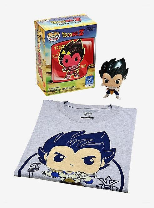 Vegeta Dragonball Z T-Shirt Bundle Box Lunch Exclusive (L)