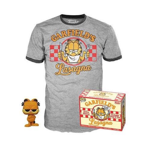 Garfield's Lasagna #20 Pop & T Shirt Bundle Target Exclusive (Flocked)