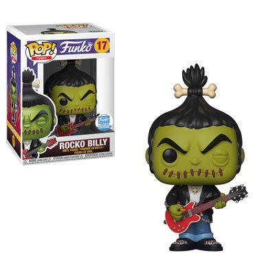 Rocko Billy #17 - Spastik Plastik Funko Shop Exclusive