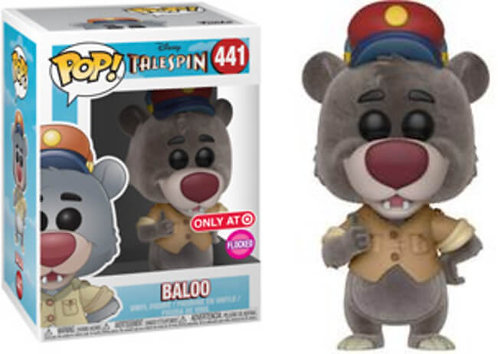 Baloo #441 Flocked - Disney's Tales Spin Target Exclusive