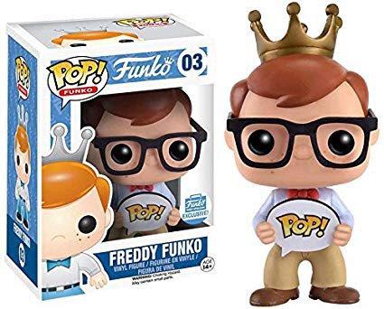 Freddy Funko #03 (Nerd) - Funko Shop Exclusive