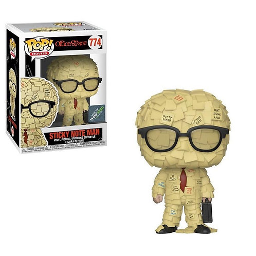 Sticky Note Man #774 - Office Space GameStop Exclusive