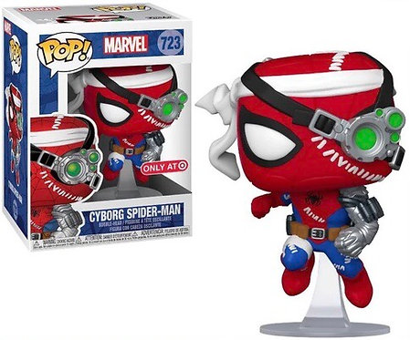 Cyborg Spider-Man #723 - Marvel Target Exclusive