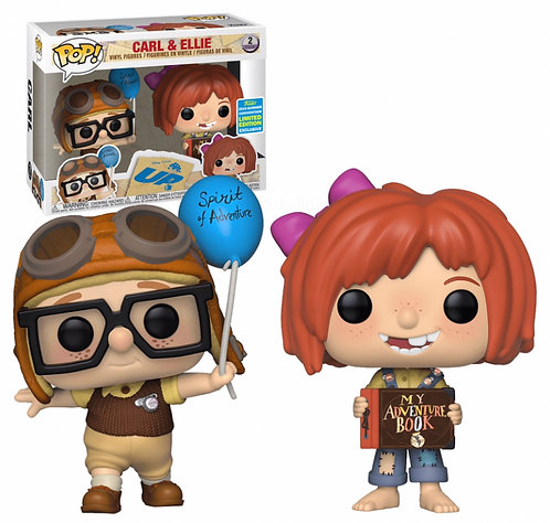 Carl & Ellie (2pk) - Disney's UP 2019 SDCC Exclusive (Box Lunch)
