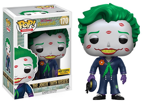 The Joker (with Kisses) #170 - Bombshell Hot Topic Exclusive