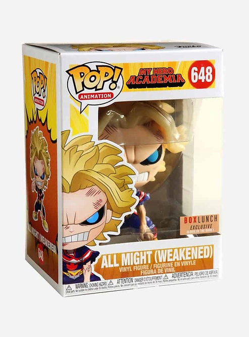 All Might #648 - My Hero Academia Box Lunch Exclusive