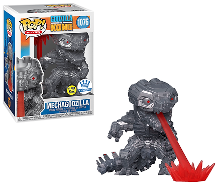 Mechagodzilla #1076 - Godzilla vs Kong Funko Shop Exclusive (Glows)