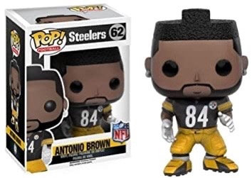 Antonio Brown #62 - Pittsburgh Steelers