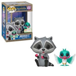 Meeko with Flit #233 - Disney's Pocahontas Box Lunch Exclusive Earth Day