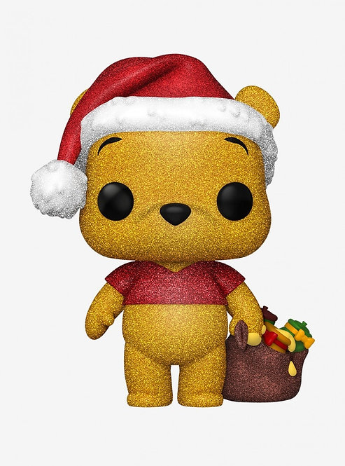 Christmas Winnie the Pooh #614 - Hot Topic Diamond Exclusive