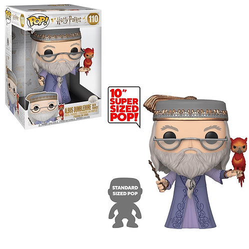 Albus Dumbledore with Fawkes #110 - Harry Potter