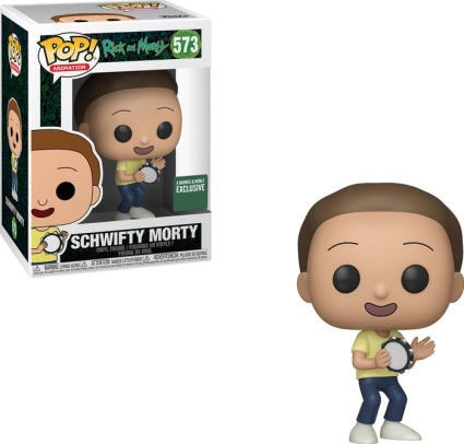 Schwifty Morty #573 - Rick & Morty Barnes & Noble Exclusive
