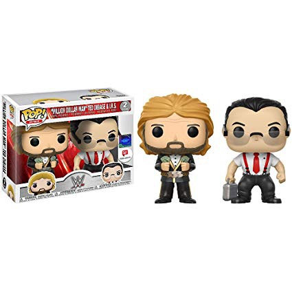 Million Dollar Man Ted Dibiase & I.R.S WWE 2-Pack Walgreens Exclusive