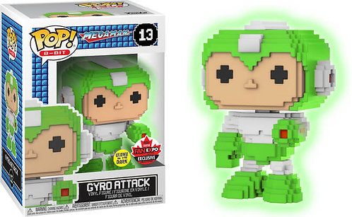 Gyro Attack #13 - Megaman 8-bit Fan Expo Exclusive
