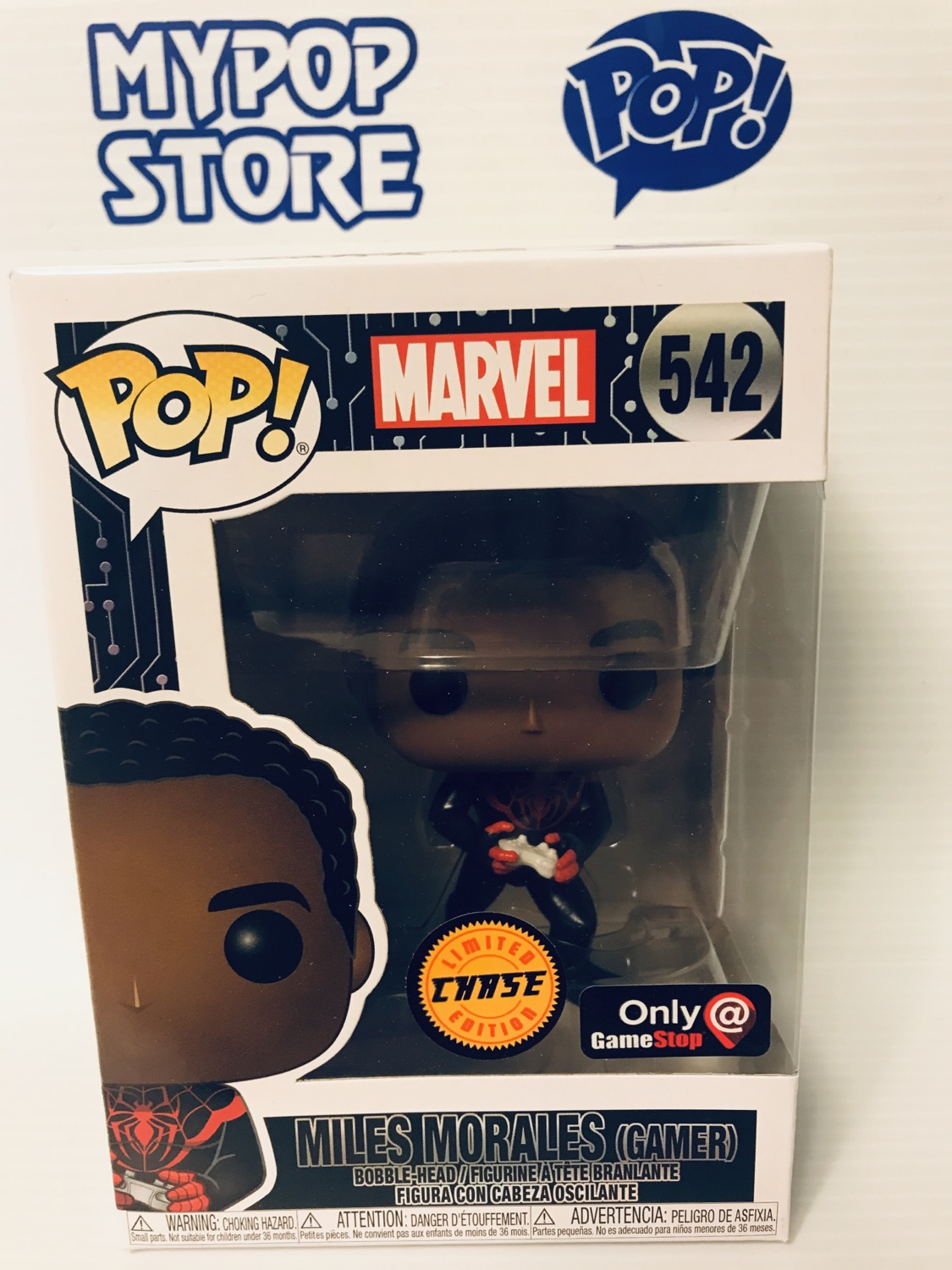 Miles Morales #542 - Marvel GameStop Exclusive CHASE