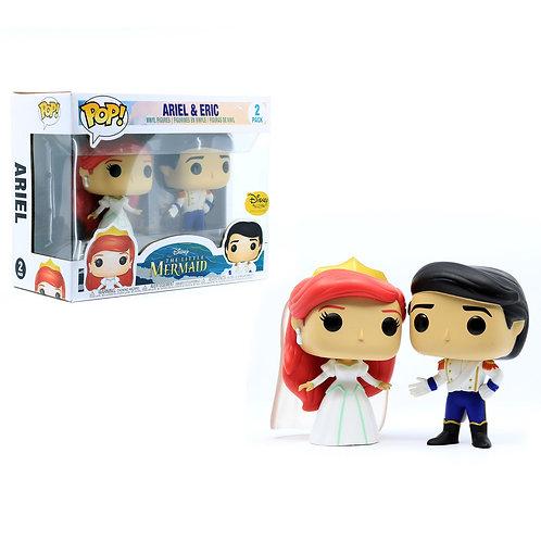Ariel & Eric - Disney's Little Mermaid 2pk Disney Treasures
