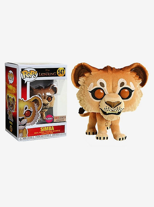 Simba #547 - Lion King Box Lunch Exclusive Flocked
