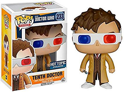 Tenth Doctor #233 - Doctor Who Hot Topic Exclusive