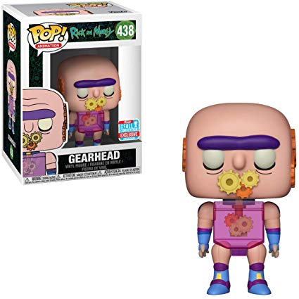 Gearhead #438 - Rick and Morty 2018 Fall Convention Exclusive