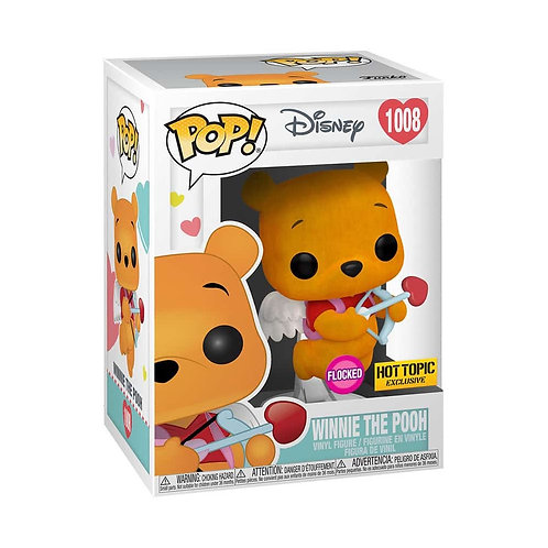 Winnie The Pooh #1008 - Valentines Day Hot Topic Exclusive (Flocked)