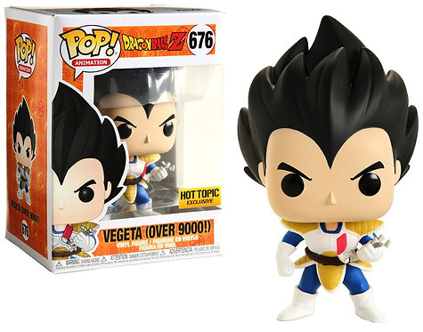 Vegeta (over 9000!) #676 Dragon Ball Z - Hot Topic Exclusive