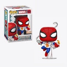 Spider-man with Pizza #672 - Marvel Box Lunch Exclusive