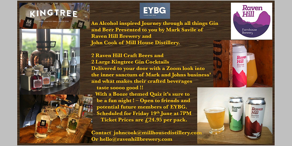 Kingtree Gin and Raven Hill Brewery Evening