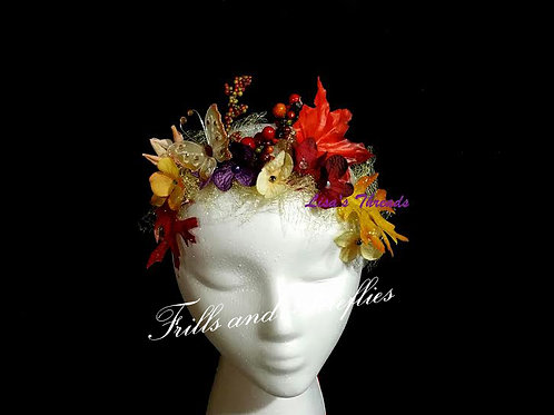 Matching Headpieces for our Woodland Fairy Dress