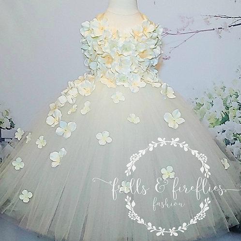 Ivory Cream Flower Girl Dress/Prom Dress/Formal Dress/Girls Dresses