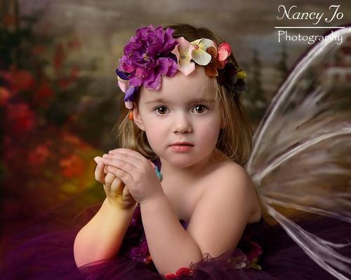 b0b749943 Plum Woodland Fairy 3 Flower Girl Dress / Plum Fairy Dresses /Princess Dre