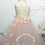 Thumbnail: LONG BLUSH TULLE SKIRT Hydrangea - Children to Adult Sizes