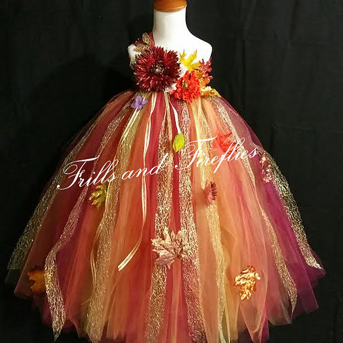 Woodland Flower Girl Fairy Dress, Other Colors Available Sizes 1t up to