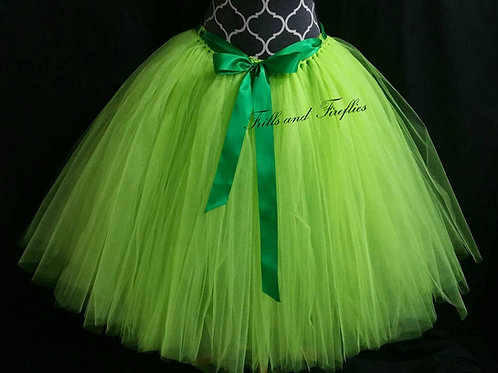 APPLE GREEN TULLE TUTU SKIRT - Many Colors - Children to Adult Sizes