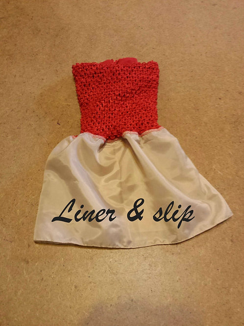 Add A Custom Made Dress or Costume Liner To My Order