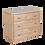 Thumbnail: Maxtrix 3 Drawer Dresser