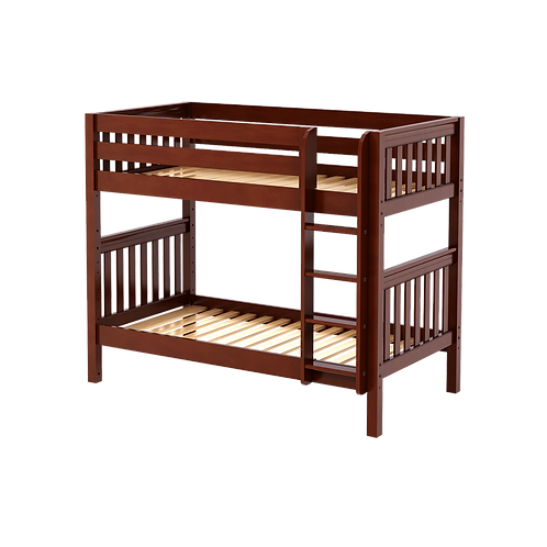 Maxtrix Medium High Twin over Twin Bunk with Straight Ladder