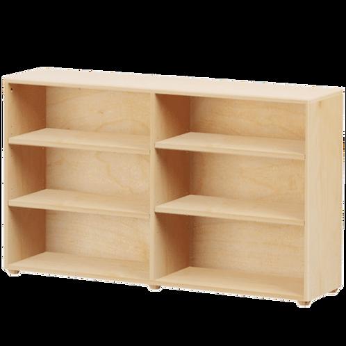 Maxtrix Low 6 Shelf Bookcase
