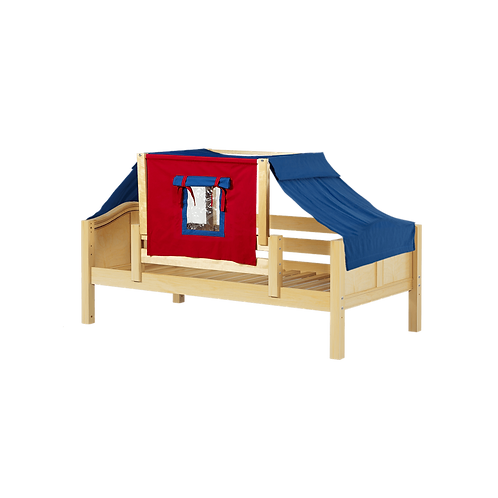 Maxtrix Twin Daybed with guardrails & top tent