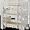 Thumbnail: Maxtrix Triple Twin Bunk Bed