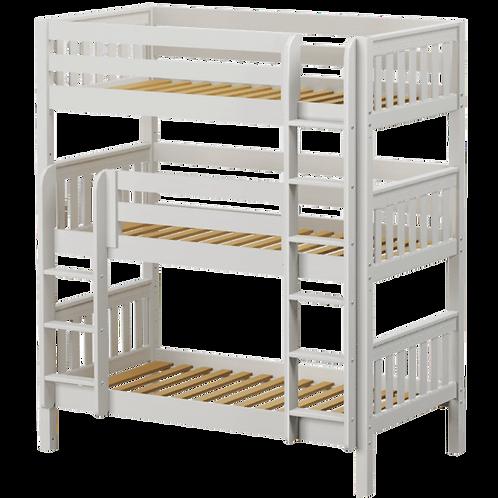 Maxtrix Triple Twin Bunk Bed