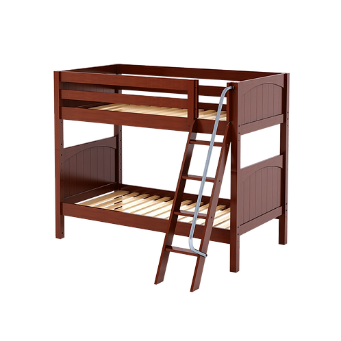 Maxtrix Low Loft with angle ladder with 6 & 3 Drawer Dresser