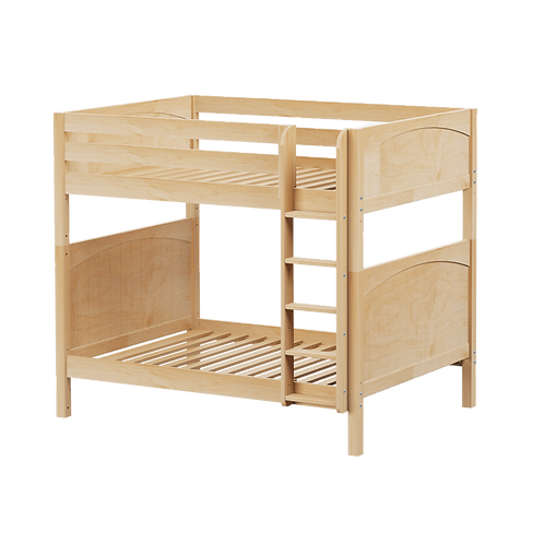 Low Loft Bed with Straight Ladder