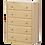 Thumbnail: Maxtrix 5 Drawer Dresser