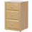 Thumbnail: Maxtrix 3 Drawer Nightstand