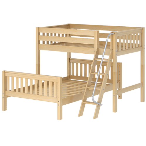 Maxtrix L-Shaped Twin over Full Bunk Bed
